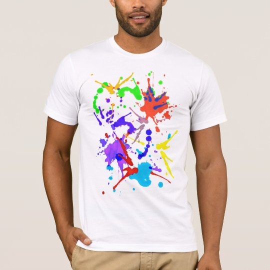 Pinte la lucha camiseta