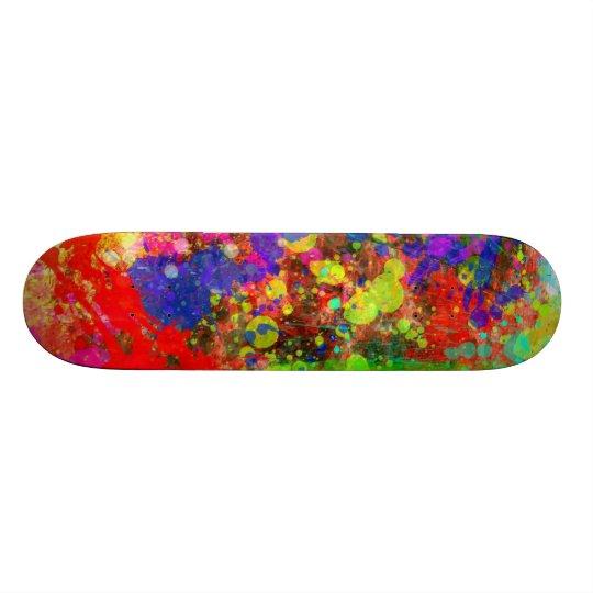 Pinte la salpicadura patin personalizado