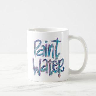 Pinte la taza del regalo el | del artista del agua