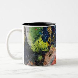 Pinte la taza del remolino