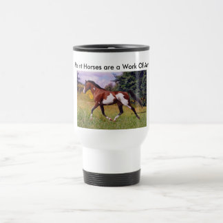 Pinte la taza el trotar del caballo