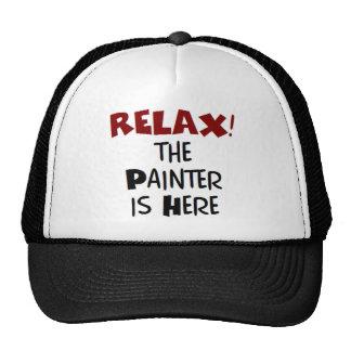 Pintor aquí gorros