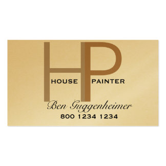 Pintor de casa de HP Tarjetas De Visita