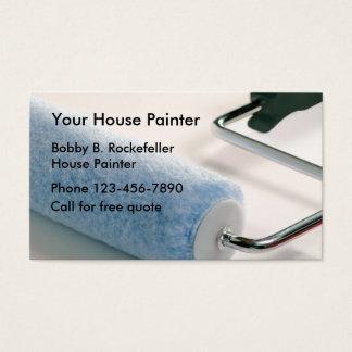 Pintor de casa simple tarjeta de negocios