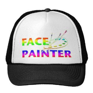 Pintor de la cara gorra