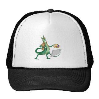 Pintor del dragón gorra