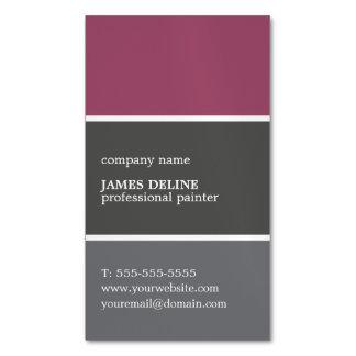 Pintor fresco del profesional de la paleta de tarjetas de visita magnéticas (paquete de 25)