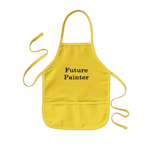 Pintor futuro delantal