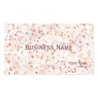Pintor - la tinta salpica tarjetas de visita