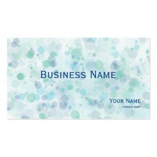 pintor profesional - la tinta salpica tarjetas de visita