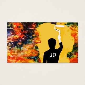 pintor profesional tarjeta de negocios