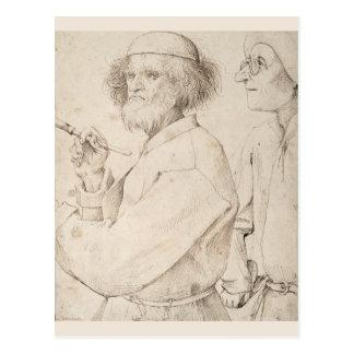 Pintor y perito de Pieter Bruegel Postales