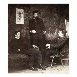 Pintores Everett Shinn Robert Henri Juan Sloan Impresión Fotográfica