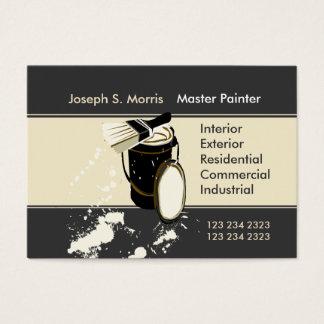 Pintores que pintan mejoras para el hogar de los tarjeta de negocios