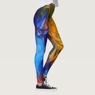 Pintura abstracta #1 leggings