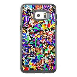 Pintura abstracta colorida linda funda OtterBox para samsung galaxy s6 edge plus