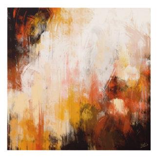 Pintura abstracta cuadro