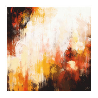 Pintura abstracta impresión en lienzo