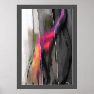 Pintura abstracta por la impresión del arte de
