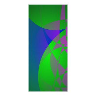 Pintura abstracta verde oscuro