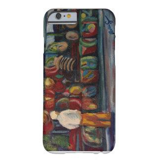 Pintura al óleo al aire libre del mercado funda barely there iPhone 6
