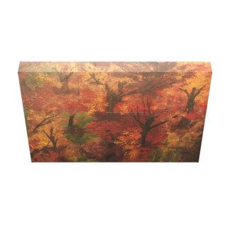 Pintura al óleo impresionista del arte del árbol