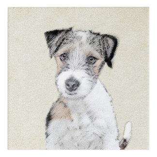 Pintura áspera de Russell Terrier - arte original