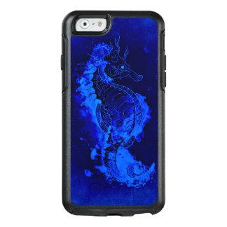 Pintura azul del Seahorse Funda Otterbox Para iPhone 6/6s