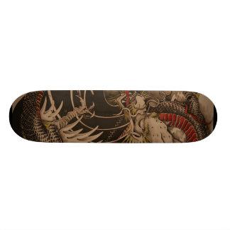 Pintura china del dragón patin