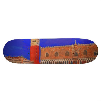 Pintura cuadrada de Piazzetta de St Mark Tabla De Skate