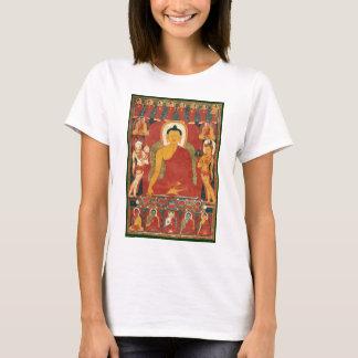 Pintura de Buda del vintage Camiseta
