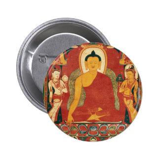 Pintura de Buda del vintage