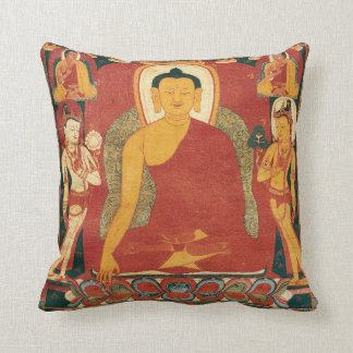 Pintura de Buda del vintage Almohadas