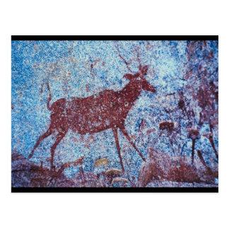 Pintura de cuevas de Drakensberg Postales