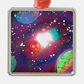Pintura de la galaxia del espacio del arte de la adorno de cerámica