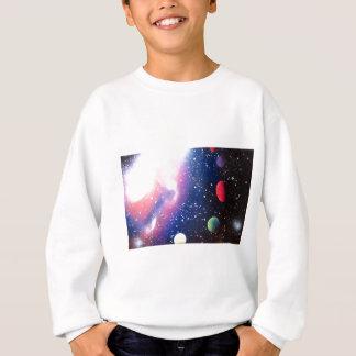 Pintura de la galaxia del espacio del arte de la sudadera