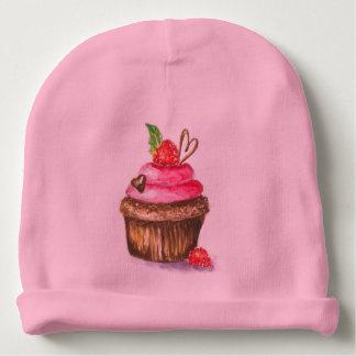 Pintura de la magdalena en el sombrero del bebé gorrito para bebe