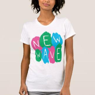 Pintura de la pintada de la nueva ola camisetas