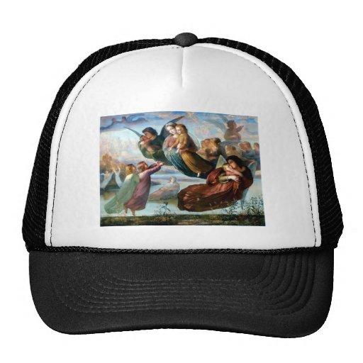 Pintura de la religión del cristianismo de los áng gorras