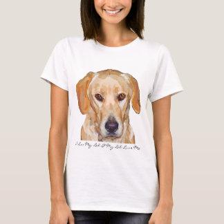 """Pintura de Labrador """"Reggie"""" en las camisetas para"""