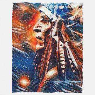Pintura de las bebidas espirituosas del Shaman del Manta Polar