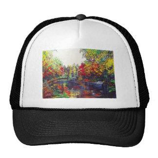 Pintura de las reflexiones gorras de camionero