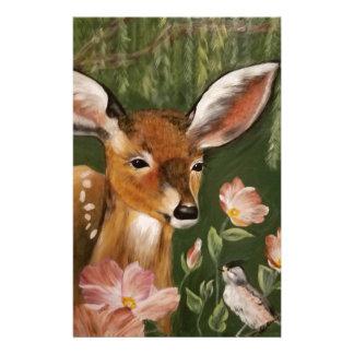Pintura de los ciervos  papeleria