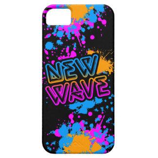 Pintura de neón Spaltter de la nueva ola del tigre iPhone 5 Carcasa