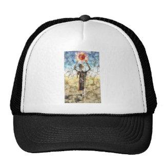 Pintura de pared extranjera gorras