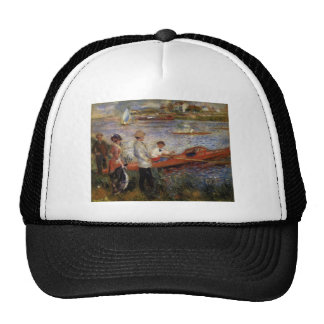 Pintura de Renoir Gorro