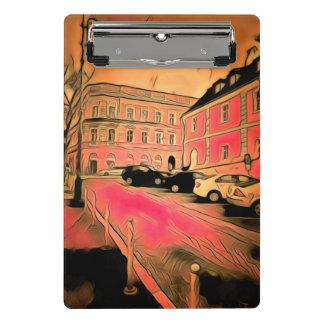 Pintura de Sibiu Minicarpeta De Pinza