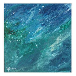 Pintura del agua impresión acrílica