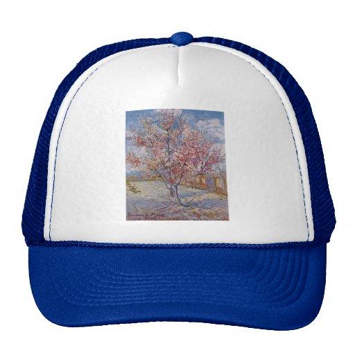 Pintura del árbol de Vincent van Gogh Gorros Bordados