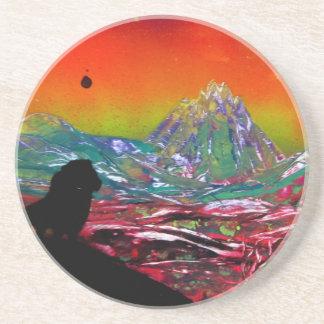 Pintura del arte de la pintura de aerosol del posavasos de arenisca